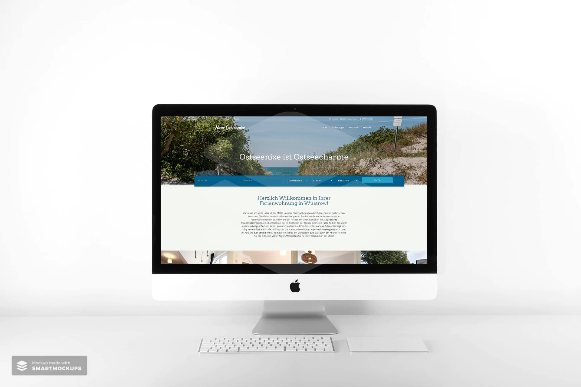 Ostseenixe Wustrow Webseite 1