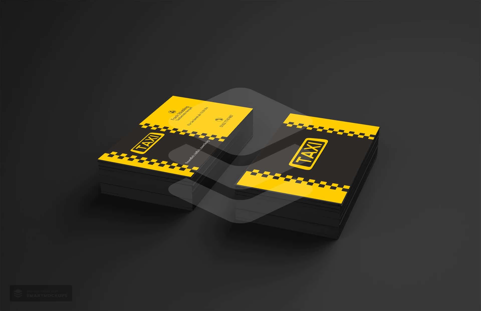 Visitenkarten Taxibetrieb Hempel 1